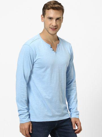 celio | Organic Cotton Blue T-Shirt