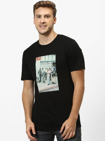 celio | celio Black T-Shirt