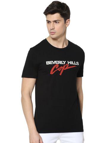 celio | 100% Cotton Black T-Shirt