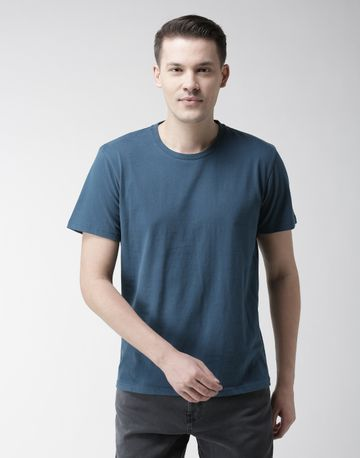 celio | 100% Cotton Black Printed T-Shirt