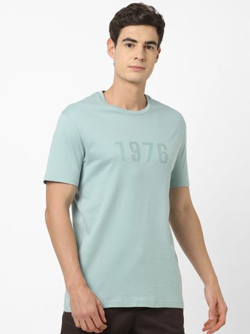 celio | 100% Cotton Green T-Shirt