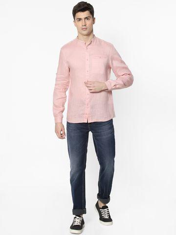 celio | 100% Cotton Pink Casual Shirt