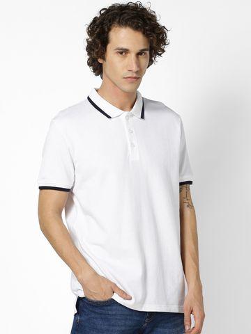 celio | 100% Cotton White Polos