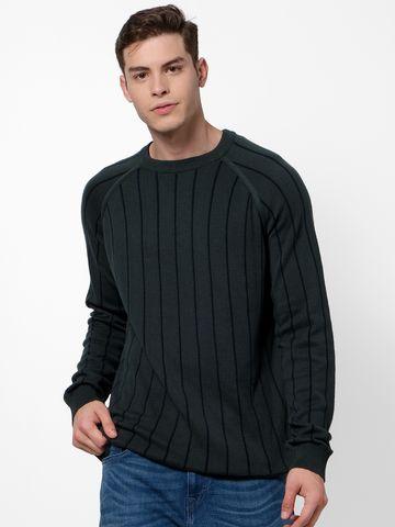 celio   Green Sweaters