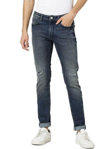 celio   Skinny Fit Blue Jeans