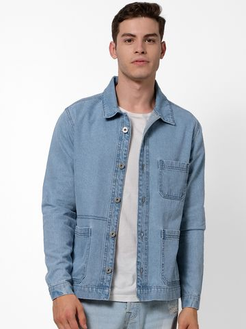 celio | Blue Denim Jackets