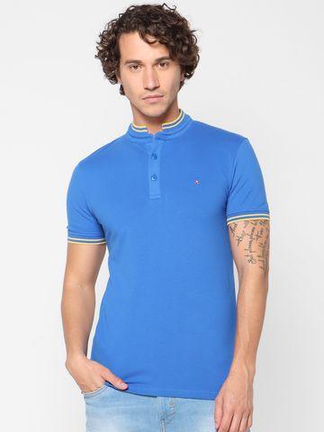 celio | Slim Fit Blue Polo T-Shirt