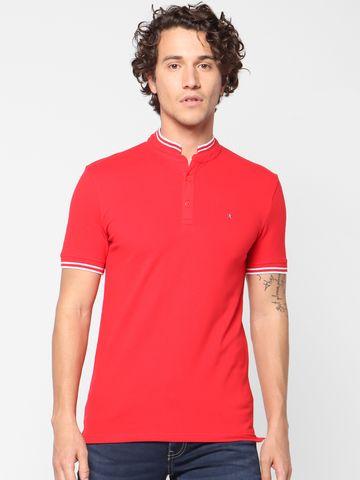 celio | Slim Fit Red Polo T-Shirt