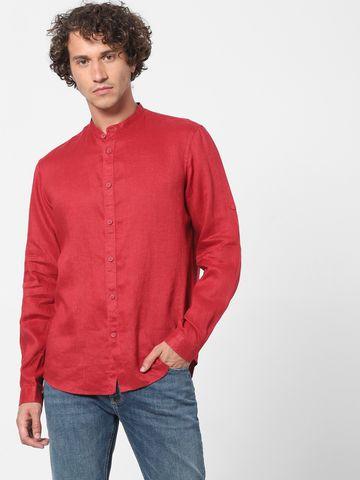 celio   Regular Fit Linen Shirt