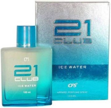 CFS | CFS 21 CLUB ICE WATER Eau de Parfum - 100 ml LONG LASTING  (For Men & Women)