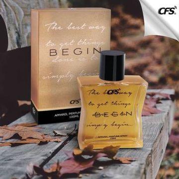 CFS | CFS Begin Gold LONG LASTING PERFUMES Eau de Parfum - 100 ml (For Men & Women)