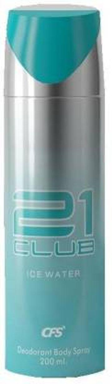 CFS | CFS 21 CLUB ICE WATER DEODORANT SPRAY - For Men & Women  (200 ml)