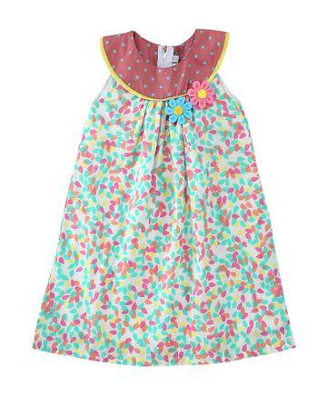 Popsicles Clothing | Popsicles Key Lime Dress Regular Fit Dress For Girl