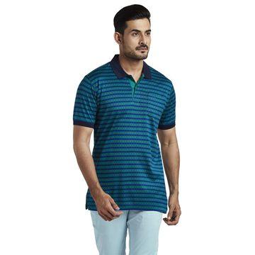 ColorPlus | ColorPlus Dark Green Tailored Fit T-Shirt