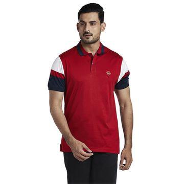 ColorPlus | ColorPlus Medium Red Tailored Fit T-Shirt