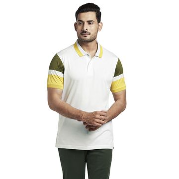 ColorPlus | ColorPlus White Tailored Fit T-Shirt