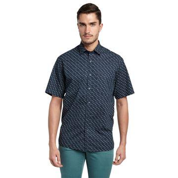 ColorPlus   ColorPlus Black Regular Fit Shirts