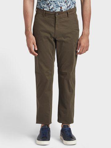 ColorPlus | ColorPlus Dark Green Tailored Fit Trouser