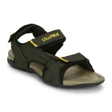 Columbus | Columbus Yellow Men's Sports Sandals
