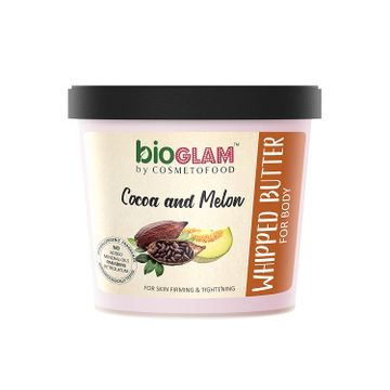 Cosmetofood | Cosmetofood Bioglam Whipped Body Butter Cocoa Melon For Skin Firming And Tightening 100 ml For Men And Women