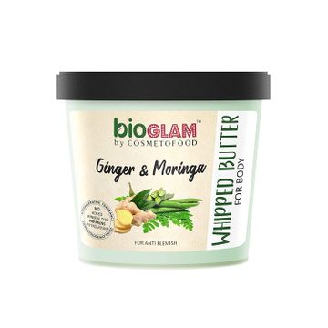 Cosmetofood | Cosmetofood Bioglam Whipped Body Butter Ginger Moringa For Anti Blemish 100 mL For Men/Women