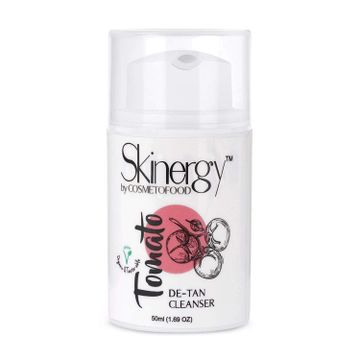 Cosmetofood | Cosmetofood Skinergy Tomato & Charcoal De-Tan Face Cleanser, 50 mL