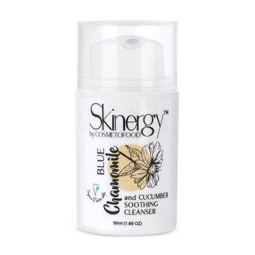 Cosmetofood | Cosmetofood Skinergy Blue Chamomile & Cucumber Soothing Face Cleanser, 50 mL