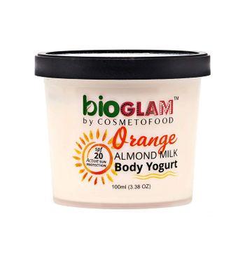 Cosmetofood | Cosmetofood Bioglam Organic Orange Body Yogurt with SPF 20, 100 mL