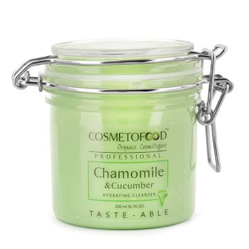 Cosmetofood | Cosmetofood Professional Chamomile & Cucumber Hydrating Face Cleanser, 200 mL