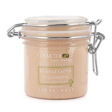 Cosmetofood | Cosmetofood Professional Roasted Coffee Rejuvenating Face Massage Cream 200 ml