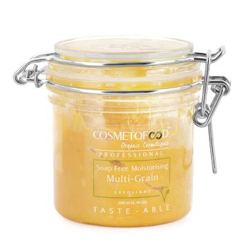 Cosmetofood | Cosmetofood Professional Soap Free Moisturising Muti-Grain Exfoliator Face Scrub, 200ml