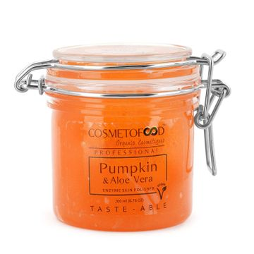 Cosmetofood | Cosmetofood Professional Pumpkin & Aloe Vera Enzyme Skin Polisher Face Scrub, 200ml