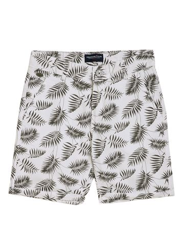 Crimsoune Club | Crimsoune Club Boy's White Printed Shorts
