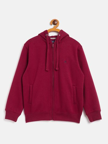 Crimsoune Club | Crimsoune Club Boy Solid Pink Sweat Shirt