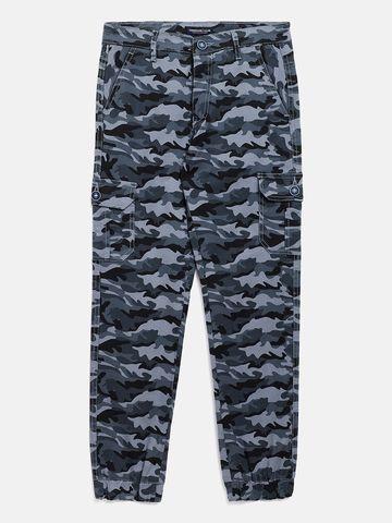 Crimsoune Club | Crimsoune Club Boy's Camouflage Grey Jogger