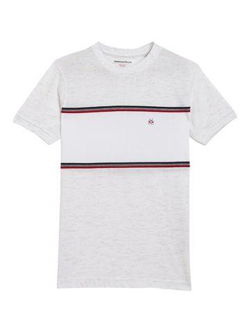 Crimsoune Club | Crimsoune Club Boy's White Solid T-Shirt
