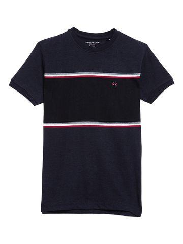 Crimsoune Club | Crimsoune Club Boy's Navy Blue Solid T-Shirt