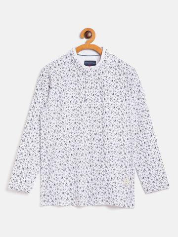 Crimsoune Club | Crimsoune Club Boy Printed White Tshirt