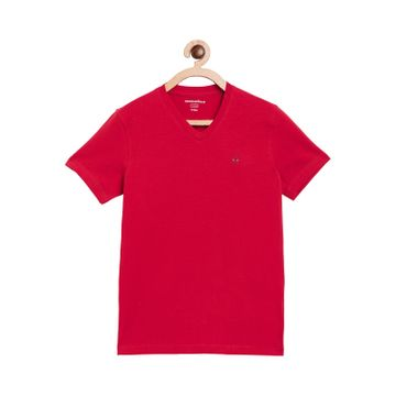 Crimsoune Club | Crimsoune Club Boy's Solid Pink Tshirt