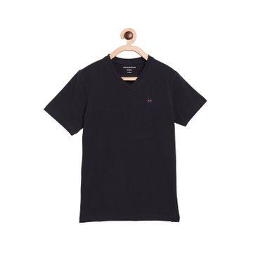 Crimsoune Club | Crimsoune Club Boy's Solid Navy Blue Tshirt