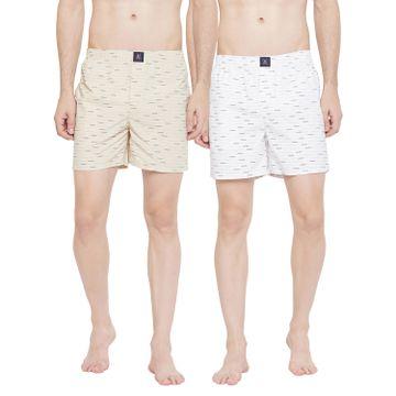 Crimsoune Club | Crimsoune Club Pack of 2 Men's Printed Boxer