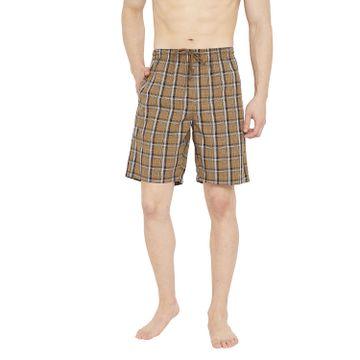 Crimsoune Club | Crimsoune Club Mens Checked Brown Boxer