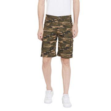 Crimsoune Club | Crimsoune Club Men's Olive Camouflage Shorts