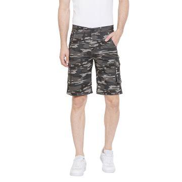 Crimsoune Club | Crimsoune Club Men's Grey Camouflage Shorts