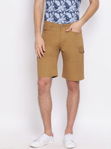 Crimsoune Club | Crimsoune Club Solid Khaki Men's Shorts