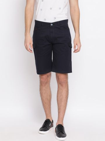 Crimsoune Club | Crimsoune Club Solid Navy Blue Men's Shorts