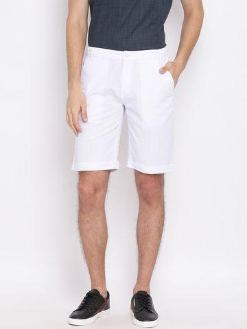 Crimsoune Club | Crimsoune Club Solid White Men's Shorts
