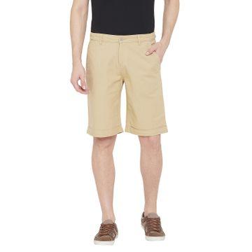 Crimsoune Club | Crimsoune Club Men's Khaki Solid Shorts