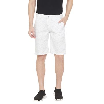 Crimsoune Club | Crimsoune Club Men's White Printed Shorts