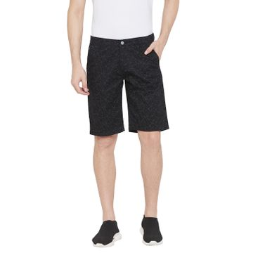 Crimsoune Club | Crimsoune Club Men's Black Printed Shorts